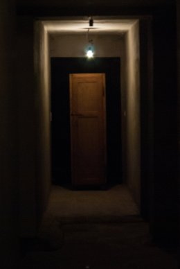 monster in closet
